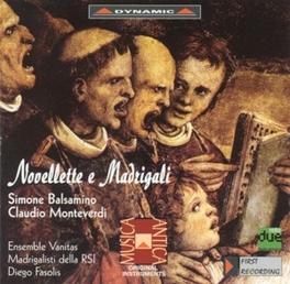 ENS VANITAS BALSAMINO/MONTEVERDI, CD