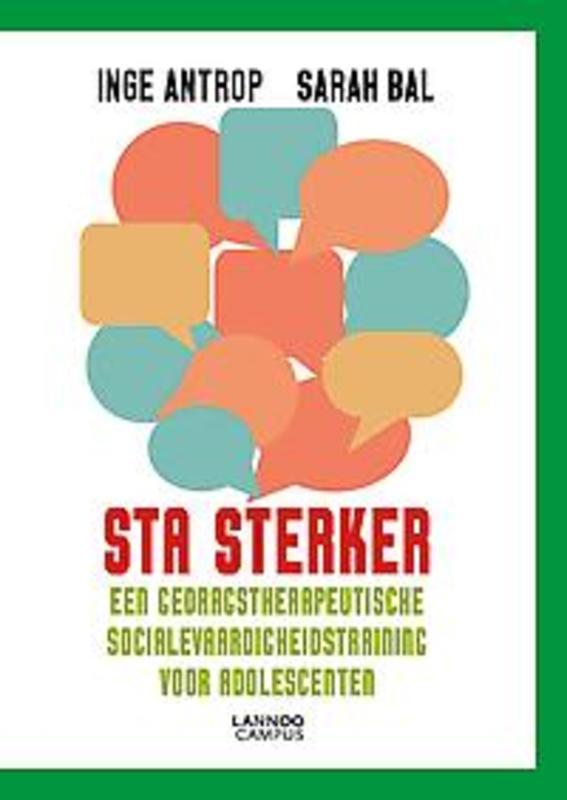 9789401440868 - STA sterker. Een gedragstherapeutische SocialevaardigheidsTraining voor Adolescenten, Antrop, Inge, Paperback - Boek