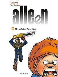 ALLEEN 10. DE ONTSTERFMACHINE ALLEEN, Vehlmann, Fabien, Paperback