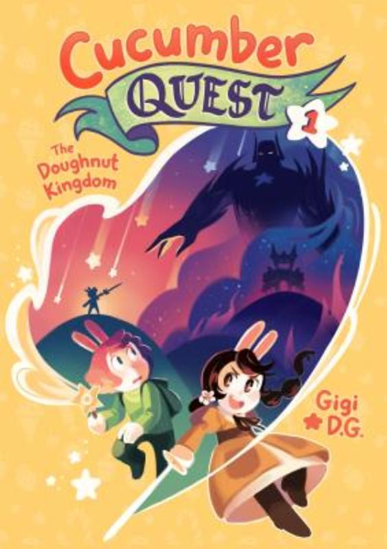 Cucumber Quest 1 The Doughnut Kingdom, Gigi D. G., Paperback
