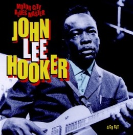 MOTOR CITY BLUES MASTER INCL. 40 PAGE BOOKLET JOHN LEE HOOKER, CD