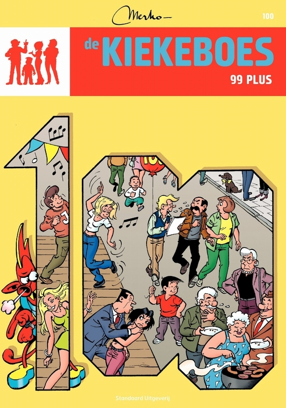 99 plus De Kiekeboes, MERHO, Paperback
