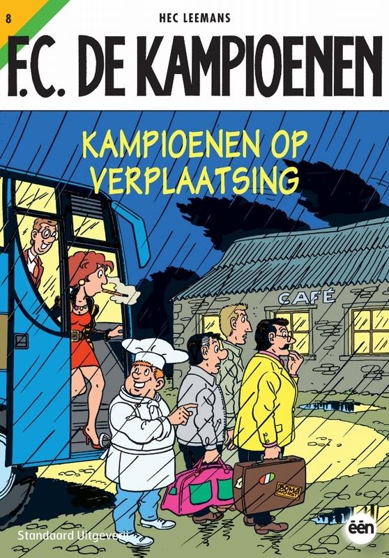 Kampioenen op verplaatsing KAMPIOENEN, Leemans, Hec, Paperback