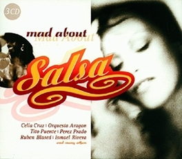 MAD ABOUT SALSA WRUBEN BLADES/PEREZ PRADO/JOE CUBA/CELIA CRUZ/TITO PUE Audio CD, V/A, CD