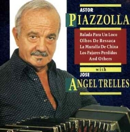WITH JOSE ANGEL TRELLES Audio CD, ASTOR PIAZZOLLA, CD