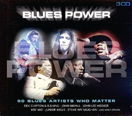 BLUES POWER WERIC CLAPTON/B.B.KING/KEB MO/ALBERT KING/JIMMY REED Audio CD, V/A, CD