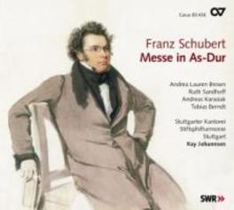 MASS IN A FLAT D 678 STUTTGARTER KANTOREI Audio CD, F. SCHUBERT, CD