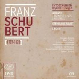 ADRAST:SCENES FROM FAUST BRANDENBURGER PHILHARMONIKER/BARBARA BERENS F. SCHUBERT, CD