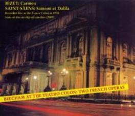 CARMEN/SAMSON ET DALILA BEECHAM Audio CD, BIZET/SAINT-SAENS, CD