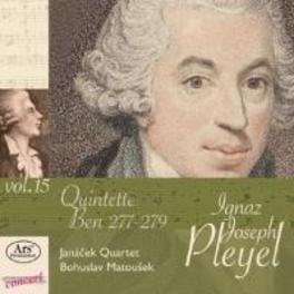 PLEYEL EDITION VOL.15 JANACEK QUARTET I.J. PLEYEL, CD