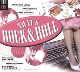 THAT'S ROCK & ROLL WJERRY LEE LEWIS/FATS DOMINO/GENE VINCENT/LLOYD PRICE Audio CD, V/A, CD