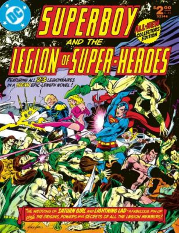 Superboy and the Legion of Super-heroes 1. Cary Bates, Hardcover