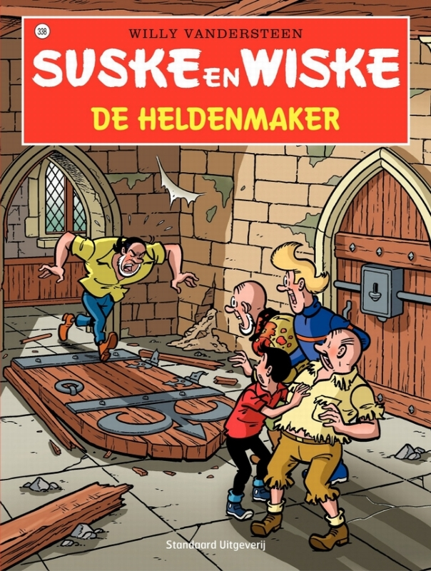 De heldenmaker SUSKE EN WISKE, Willy Vandersteen, Paperback