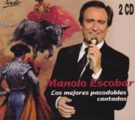LOS MEJORES PASODOBLES CANTADOS MANOLO ESCOBAR, CD