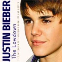 LOWDOWN INTERVIEWS + BOOKLETS & POSTERS JUSTIN BIEBER, CD