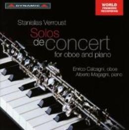 SOLOS DE CONCERT FOR OBOE ENRICO CALAGNI/ALBERTO MAGAGNI S. VERROUST, CD
