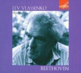 SONATAS NO.2,8 & 17 LEV VLASSENKO Audio CD, L. VAN BEETHOVEN, CD