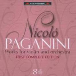 WORKS FOR VIOLIN & ORCHES MASSIMO QUARTA, YEHUDI MENUHIN, RUGGIERO RICCI, SALVATO Audio CD, N. PAGANINI, CD