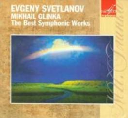 BEST SYMPHONIC WORKS BOLSHOI S.O./USSR STATE AC.S.O. Audio CD, M. GLINKA, CD