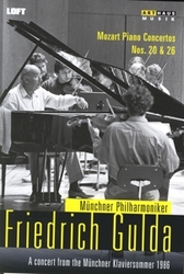 MUNCHEN 1986 FRIEDRICH GULDA/MUNCHNER PHILHARMONIKER, 1986