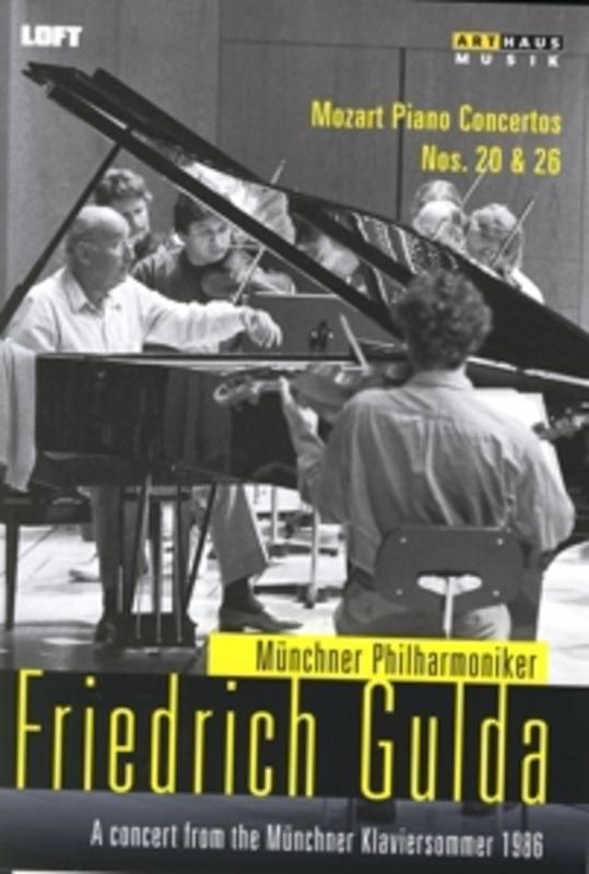 MUNCHEN 1986 FRIEDRICH GULDA/MUNCHNER PHILHARMONIKER, 1986 W.A. MOZART, DVD