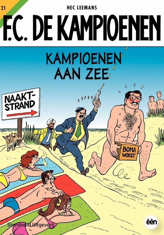 Kampioenen aan zee F.C. De Kampioenen, Hec Leemans, Paperback