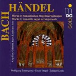 WORKS IN ROMANTIC ORGAN A W/WOLFGANG BAUMGRATZ Audio CD, BACH/HANDEL, CD