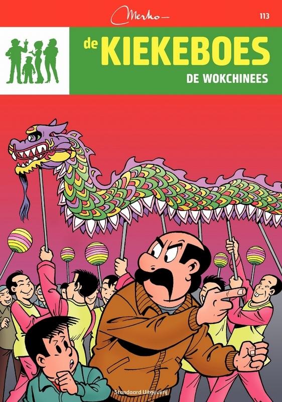 De wokchinees Kiekeboe, Merho, Paperback