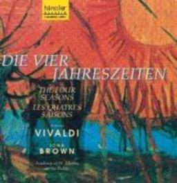 DIE 4 JAHRESZEITEN W/IONA BROWN-VIOLIN, ACADEMY OF ST.MARTIN-IN-THE-FIELDS Audio CD, A. VIVALDI, CD