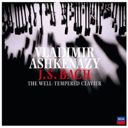 WELL TEMPERED CLAVIER W/VLADIMIR ASHKENAZY Audio CD, J.S. BACH, CD