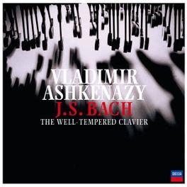 WELL TEMPERED CLAVIER W/VLADIMIR ASHKENAZY Audio CD, J.S. BACH, CD