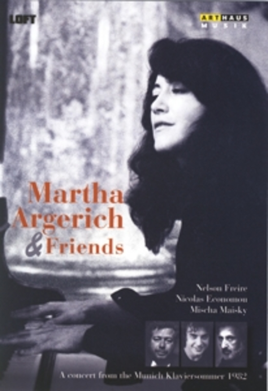 MARTHA ARGERICH & FRIENDS MARTHA ARGERICH, DVD