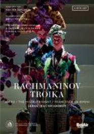 TROIKA KOSTAS SMORIGINAS/SERGEI SMISHKUR/ALEXANDER VASSILIEV. S. RACHMANINOV, DVD