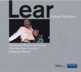 LEAR KOCH/WEIGLE/OPER FRANKFURT Audio CD, A. REIMANN, CD