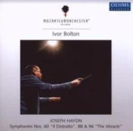 SYMPHONIES NO.60,88 & 96 MOZARTEUMORCHESTER SALZBURG/BOLTON Audio CD, J. HAYDN, CD