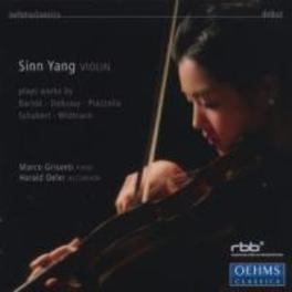 DEBUT:WORKS FOR VIOLIN YANG, SINN/GRISANTI/OELER Audio CD, SINN YANG, CD