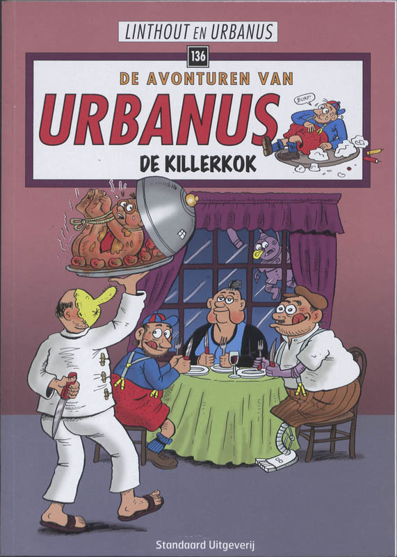 URBANUS 136. DE KILLERKOK Urbanus, Willy Linthout, Paperback