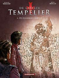 LAATSTE TEMPELIER CYCLUS 2 02. DE EENARMIGE RIDDER 2/2 LAATSTE TEMPELIER CYCLUS 2, Khoury, Raymond, Paperback