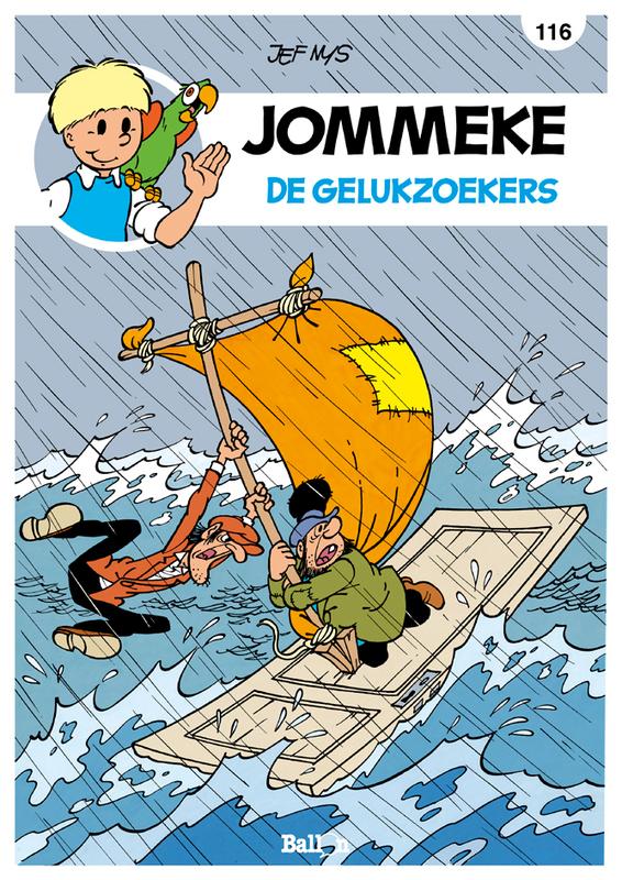 JOMMEKE 116. DE GELUKZOEKERS JOMMEKE, Nys, Jef, Hardcover