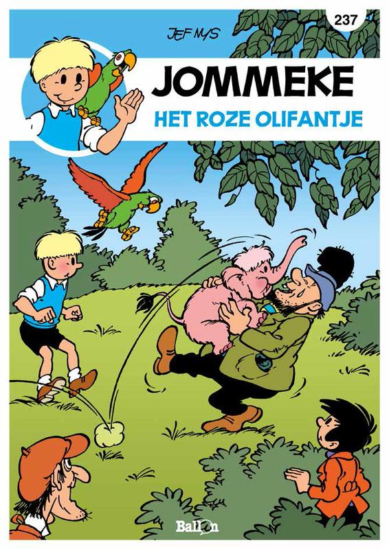 JOMMEKE 237. HET ROZE OLIFANTJE JOMMEKE, Nys, Jef, Paperback