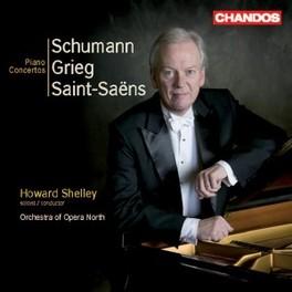 PIANO CONCERTOS ORCHESTRA OPERA NORTH/SHELLEY Audio CD, GRIEG/SCHUMANN/ST.SAENS, CD