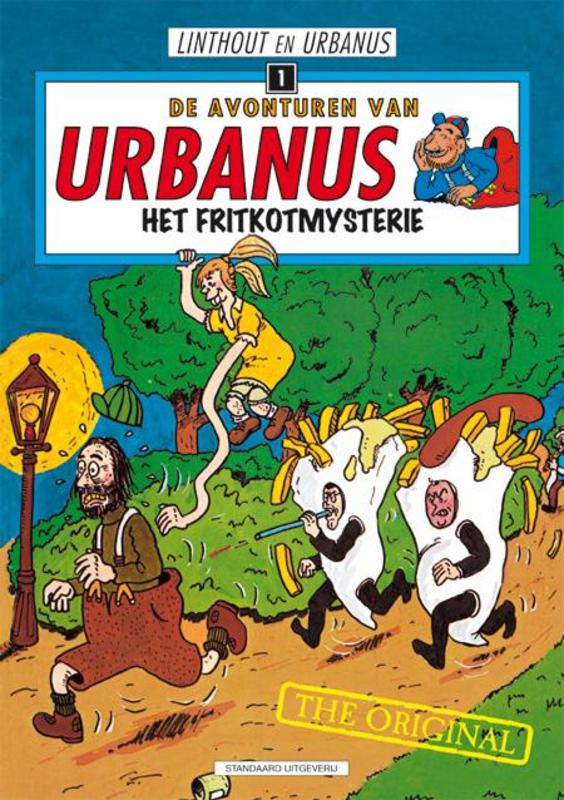 Het fritkotmysterie URBANUS, Linthout, Willy, Paperback