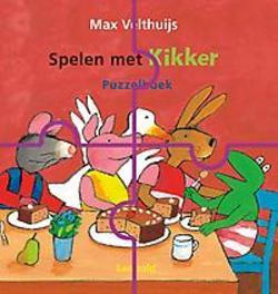 Spelen met Kikker puzzelboek, Max Velthuijs, Hardcover
