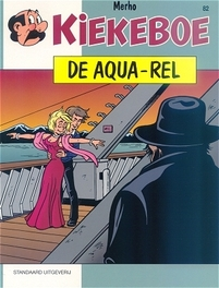 De aqua-rel KIEKEBOES DE, MERHO, Paperback