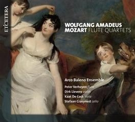 FLUTE QUARTETS ARCO BALENO ENSEMBLE W.A. MOZART, CD