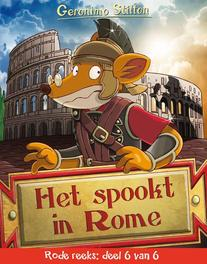 Het spookt in Rome Rode reeks deel 6, Geronimo Stilton, Hardcover