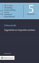 Eigendom en beperkte rechten Zakenrecht, Assers, C., Hardcover