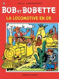 La locomotive en or BOB ET BOBETTE, Willy Vandersteen, Paperback