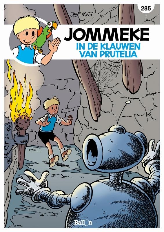 JOMMEKE 285. IN DE KLAUWEN VAN PRETULIA JOMMEKE, Delzenne, Philippe, Paperback