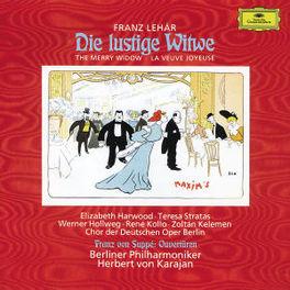 DIE LUSTIGE WITWE W/STRATAS, KOLLO, HERBERT VON KARAJAN Audio CD, F. LEHAR, CD